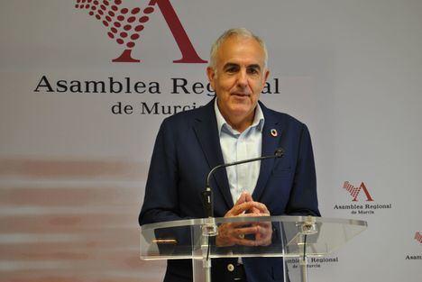 """Alfonso Martínez: """"Es esencial alcanzar un pacto político en la Región para afrontar la enorme crisis económica y social que tenemos encima"""""""