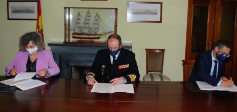 El Ministerio de Defensa otorga la concesión del antiguo Pañol de la Comisión Naval de Regatas del Arsenal de Cartagena a la Universidad de Murcia y a la Universidad Politécnica de Cartagena