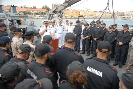 """El """"Sella"""" se integra en la agrupación permanente de cazaminas de la OTAN en el Mediterráneo"""