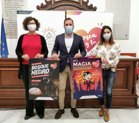 La concejalía de Turismo ofrece dos propuestas de ocio en el Castillo de Lorca para celebrar Halloween