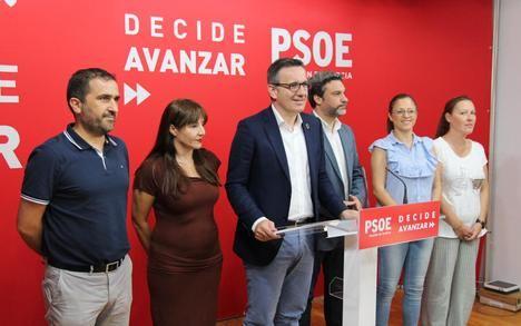 """Diego Conesa: """"Impulsaremos desde el Congreso y Senado todos los compromisos en infraestructuras y mejoraremos las carencias de la Región"""""""