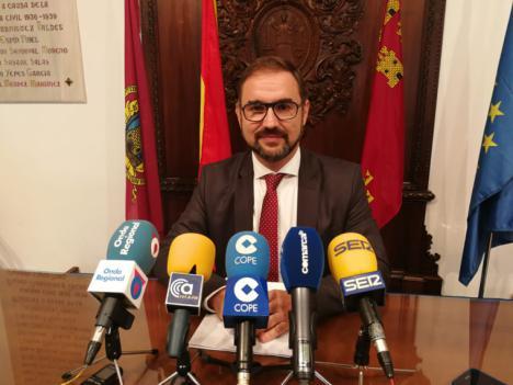 """El Alcalde de Lorca pide al Servicio Murciano de Salud """"hacer un esfuerzo"""" para dotar al Área III con medios materiales y humanos suficientes para la disminución de las listas de espera"""