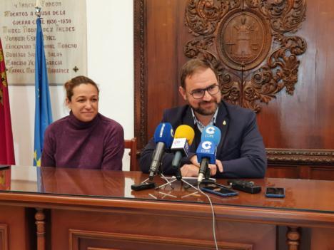 """El Alcalde de Lorca pide """"cordura"""" y que los grupos políticos """"actúen con responsabilidad, pensando en los ciudadanos y no atendiendo a intereses partidistas para aprobar el presupuesto municipal"""""""