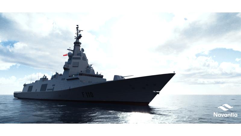 Navantia, finalista en el programa de Polonia para el diseño de tres fragatas