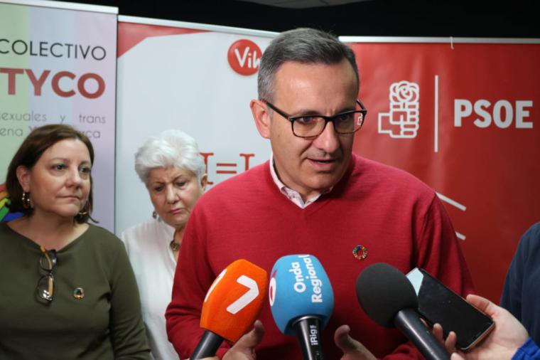 """Diego Conesa: """"El único pin que debe aplicarse en esta Región es el de la Agenda 2030"""""""
