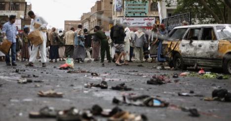 Decenas de heridos en un doble ataque lanzado por los rebeldes del movimiento yemení Ansar Alá