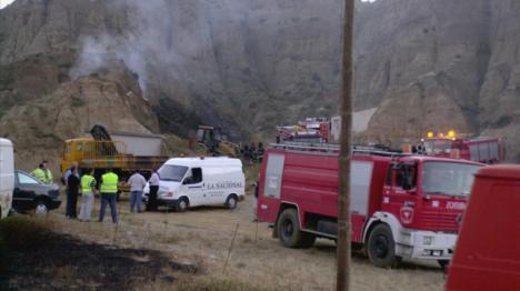 El ayuntamiento de Guadix decreta tres días de luto por la muerte de tres trabajadores en la explosión de una pirotecnia