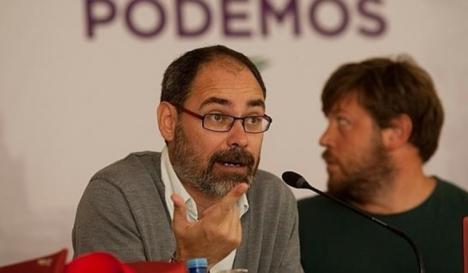 Dimite el líder de Podemos Málaga Alberto Montero después de que IU cope la lista del 28-A al Congreso