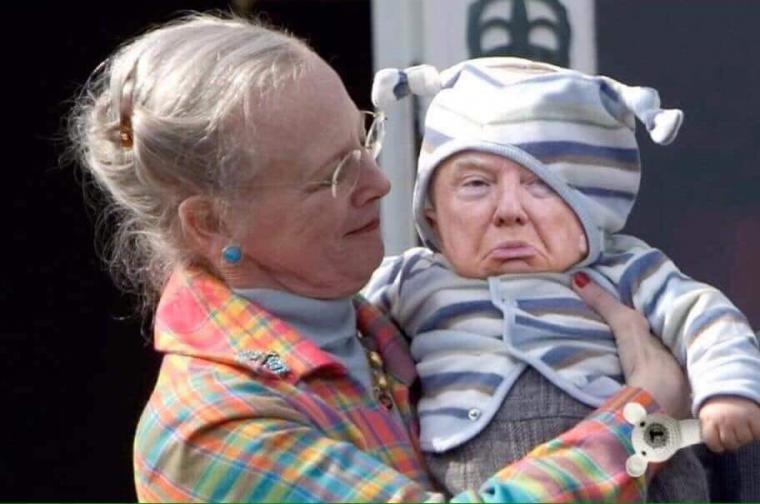 Trump sirve de mofa a los daneses