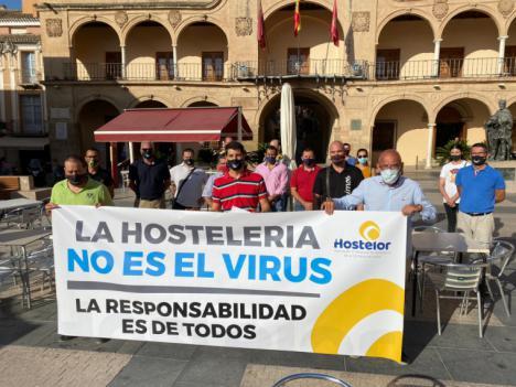 """Hostelor exige exenciones fiscales, advierte que Lorca se convertirá en """"una ciudad zombi"""" si continúa el cese de actividad y anuncia una demanda contra los Gobiernos central y regional """"si no reciben indemnizaciones"""""""