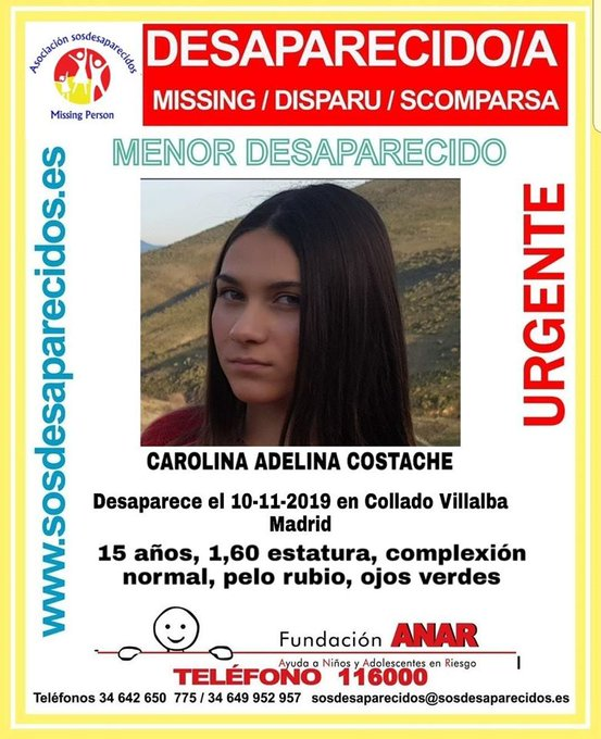Dos hermanas de 15 años desaparecen en Collado Villalba