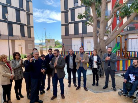El Ayuntamiento de Lorca hace entrega de las llaves de las seis viviendas de propiedad municipal situadas en el Barrio de San Fernando a diversos colectivos sociales del municipio