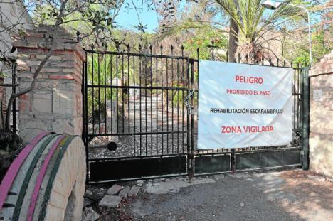 El Ayuntamiento de Lorca está a la espera de recibir la subvención de la CARM para la consolidación del Molino del Escarambrujo