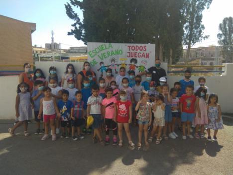 El Saliente y la Fundación Almeriense de Personas con Discapacidad organizan 5 Escuelas de Verano para familias con escasos recursos