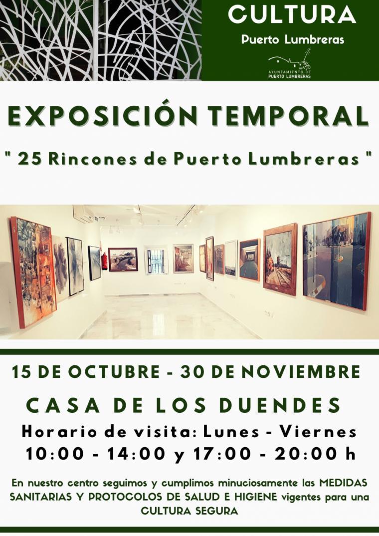 """La Casa de los Duendes alberga desde hoy hasta el 30 de noviembre la exposición """"25 rincones de Puerto Lumbreras"""""""