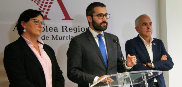 """Francisco Lucas: """"El PSRM está centrado en las personas y en trabajar con lealtad para no dejar a nadie atrás y salir cuanto antes de esta crisis, cueste lo que cueste"""""""