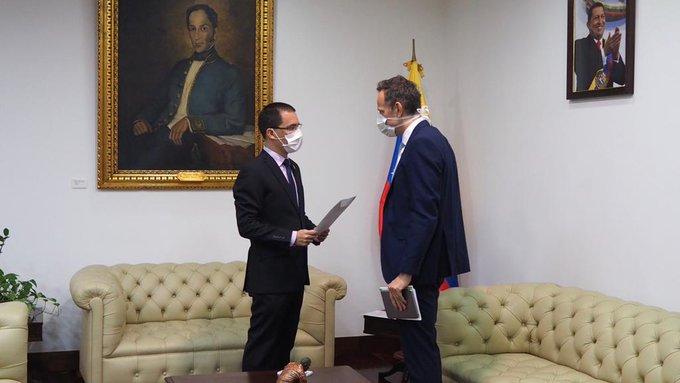 """El Gobierno de Nicolás Maduro protesta oficialmente por carta ante Reino Unido por la creación de """"Unidad para la Reconstrucción de Venezuela"""""""