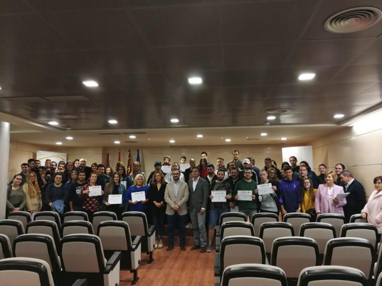 El alcalde de Lorca entrega los diplomas de los programas de empleo y formación impartidos desde la Concejalía de Desarrollo Local