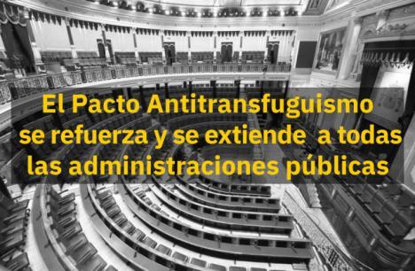 El PSOE presenta una iniciativa para instar a todos los grupos del Senado a rechazar el transfuguismo