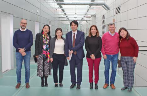 Una delegación de Japón participa en una misión inversa organizada por el PITA