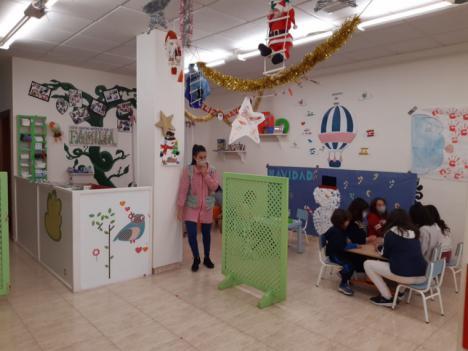 Águilas cuenta con una Escuela de Navidad para facilitar la conciliación de las familias trabajadoras con menores a su cargo
