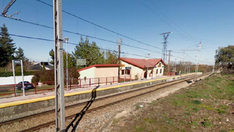 Un hombre de 52 años ha sido arrollado por un tren en el municipio segoviano de Ortigosa del Monte.