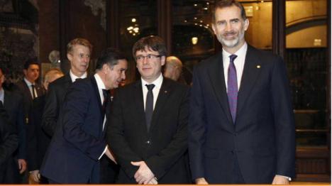 La reina Leticia, no estará en la manifestación de Barcelona