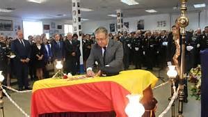 Medalla de Oro al Mérito Policial a Blas Gámez, el policía asesinado.