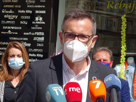 """Diego Conesa: """"El Gobierno tránsfuga de López Miras tiene que complementar hasta los 200 millones de euros los 142,5 millones de enviados por el Gobierno de España para los autónomos y autónomas"""""""