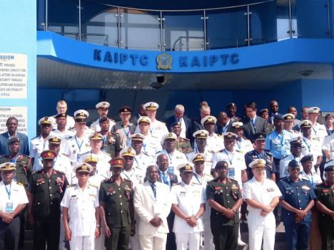 Simposio de Jefes de Estado Mayor de las Marinas del Golfo de Guinea en Accra