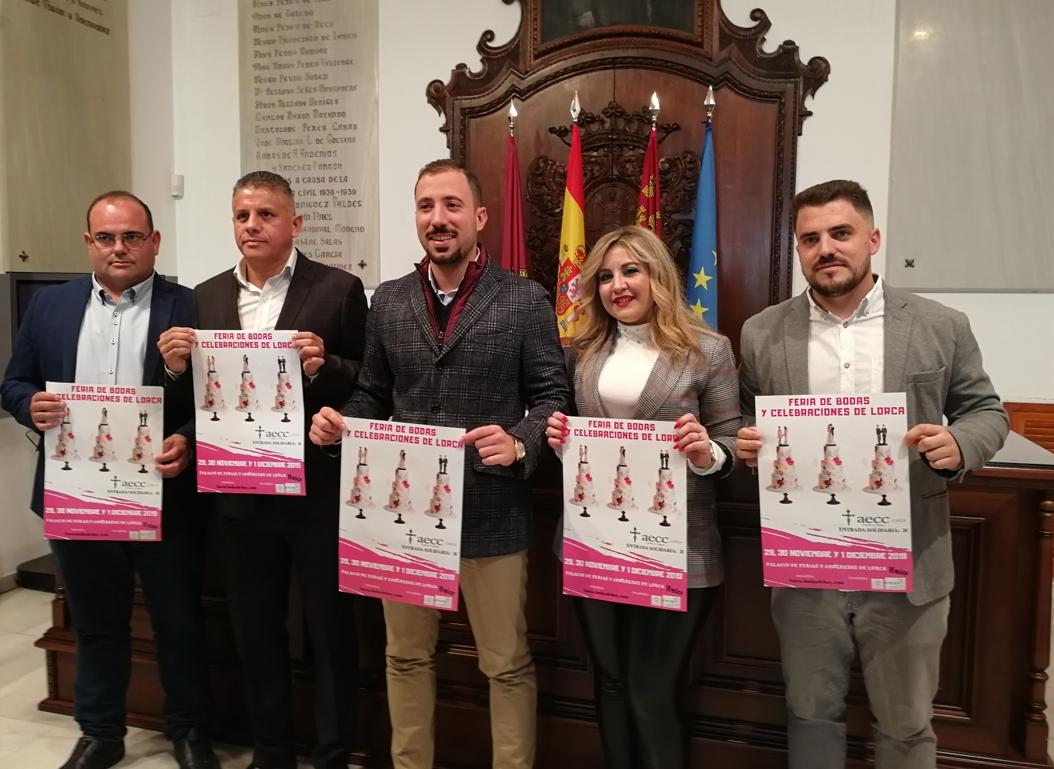 IFELOR acoge este próximo fin de semana la Feria de Bodas y Celebraciones Lorca 2019 en el que participan más de 80 empresas del sector