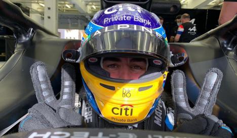 Fernando Alonso firma su mejor clasificación desde su regreso a la Fórmula 1