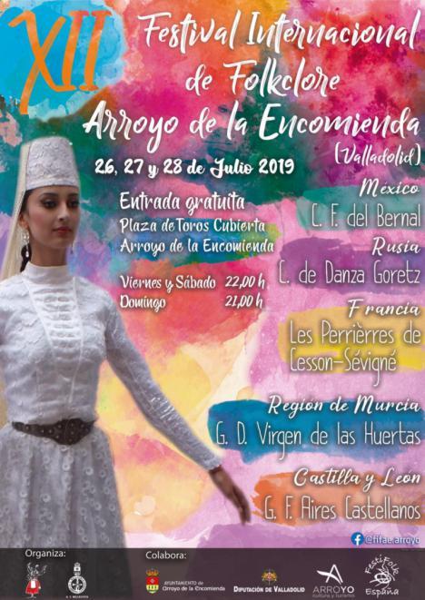 El grupo de Coros y Danzas Virgen de las Huertas participará este fin de semana del 26 al 28 de julio en el 'Festival Internacional de Folklore De Arroyo de la Encomienda'