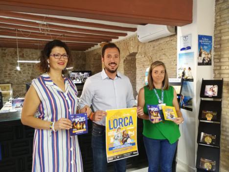 El concejal de Turismo del Ayuntamiento de Lorca, Francisco Morales ha anunciado, esta mañana, que Lorca amplia las actividades para turistas y lorquinos tanto en la ciudad como en el castillo para los meses de julio y agosto.