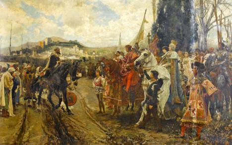 Tal día como hoy hace 528 años los Reyes Católicos toman Granada y hace 200 años se produjo el pronunciamiento de Riego y el alzamiento que cambió España