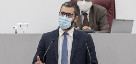 """Francisco Lucas: """"Es una absoluta vergüenza que la única hoja de ruta del PP para la Región sea la de difamar y linchar a los dirigentes del PSRM"""""""