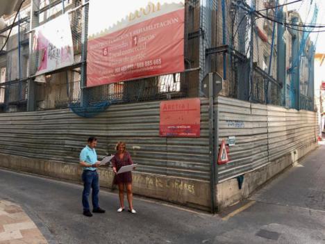 Continúa el proceso para la implantación del hotel 'Casa del León' en el casco histórico de Lorca