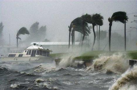 El huracán Harvey toca tierra en Texas.