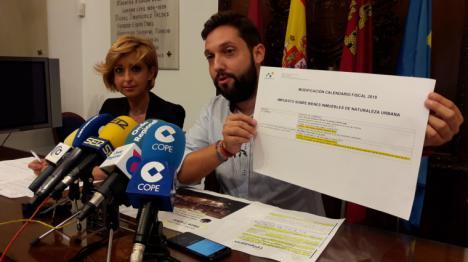 """El PP califica de """"tomadura de pelo"""" que Ciudadanos y PSOE oculten el pago del 100% del IBI a los afectados por los seísmos hasta después de las elecciones generales"""