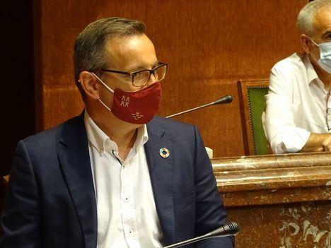 PP, Ciudadanos y VOX no consideran extraordinaria la actual situación que vive la Región con la inminente 'vuelta al cole', y niegan el pleno extraordinario solicitado por el PSOE