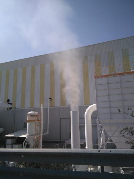 Los Covs, compuestos orgánicos volátiles, que Cosentino deja escapar y contamina la atmósfera