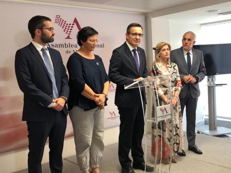 """Diego Conesa: """"El candidato de hoy es el candidato derrotado en las elecciones y se ha visto reflejado en su discurso"""""""
