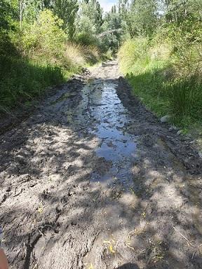El alcalde de Alcontar sigue permitiendo que las aguas fecales contaminen el rio Almanzora