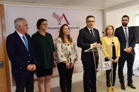 """Diego Conesa: """"Vox ha marcado los tiempos y, desgraciadamente, será el que marque la política y el Gobierno regional en los próximos cuatro años"""""""