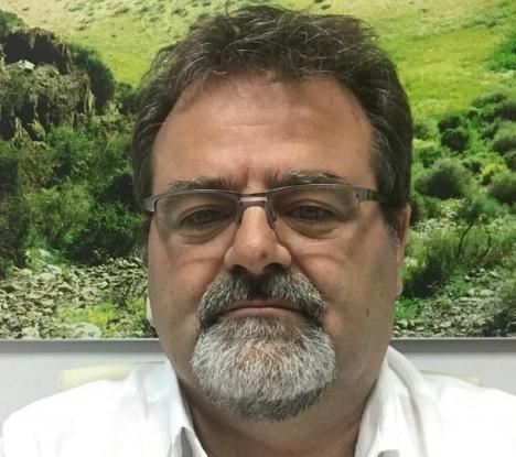 ENTREVISTA CON ANTONIO NAVARRO, CONCEJAL DE PEDANÍAS, DESARROLLO RURAL, AGRICULTURA, GANADERÍA, PARQUES Y JARDINES, Y FERIAS DEL AYUNTAMIENTO DE LORCA. OCTAVO TENIENTE DE ALCALDE
