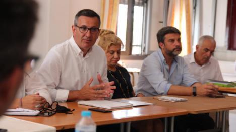 Diego Conesa destaca el compromiso inequívoco del Gobierno de España con el Mar Menor y apela a la necesaria coordinación entre administraciones