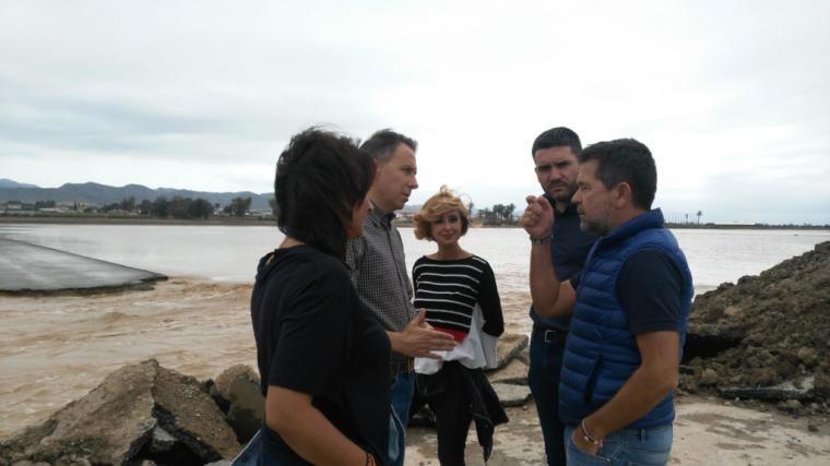 El PP exige a Isabel Franco y a Ciudadanos Región de Murcia que aclaren inmediatamente dónde estaba su concejal durante la alerta roja por lluvias