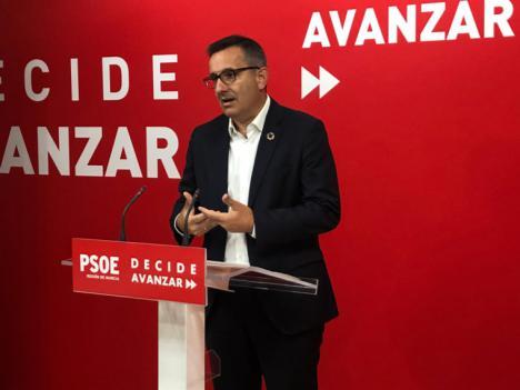 """Diego Conesa: """"Los socialistas nos negamos a dar por muerto el Mar Menor"""""""