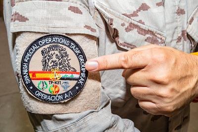 Acto de despedida del Grupo Táctico de Operaciones Especiales español en Irak