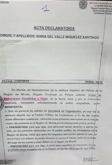Tras el 'Pucherazo' de Isabel Franco en las primarias, llegaron las mentiras en sede policial, de Valle Miguélez